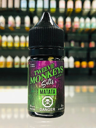 TWELVE MONKEYS SALTS - MATATA
