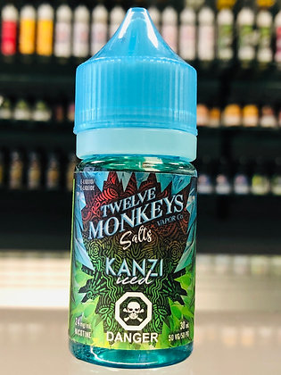 TWELVE MONKEYS SALTS - KANZI ICED