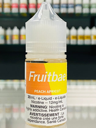 FRUITBAE SALTS - PEACH APRICOT