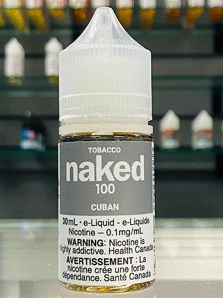 NAKED 100 - CUBAN - 30ML