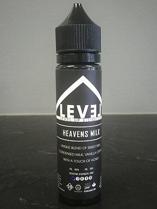 LEVEL UP E-LIQUID - HEAVENS MILK