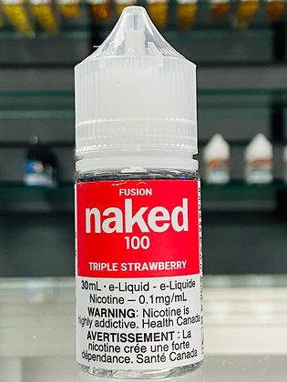 NAKED 100 - TRIPLE  STRAWBERRY - 30ML