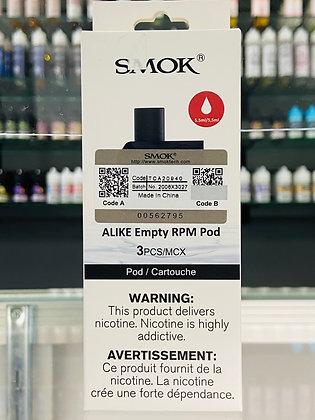 SMOK ALIKE RPM EMPTY REPLACEMENT POD (1PC)
