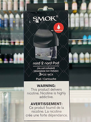 SMOK NORD 2 NORD REPLACEMENT EMPTY POD (1PC)