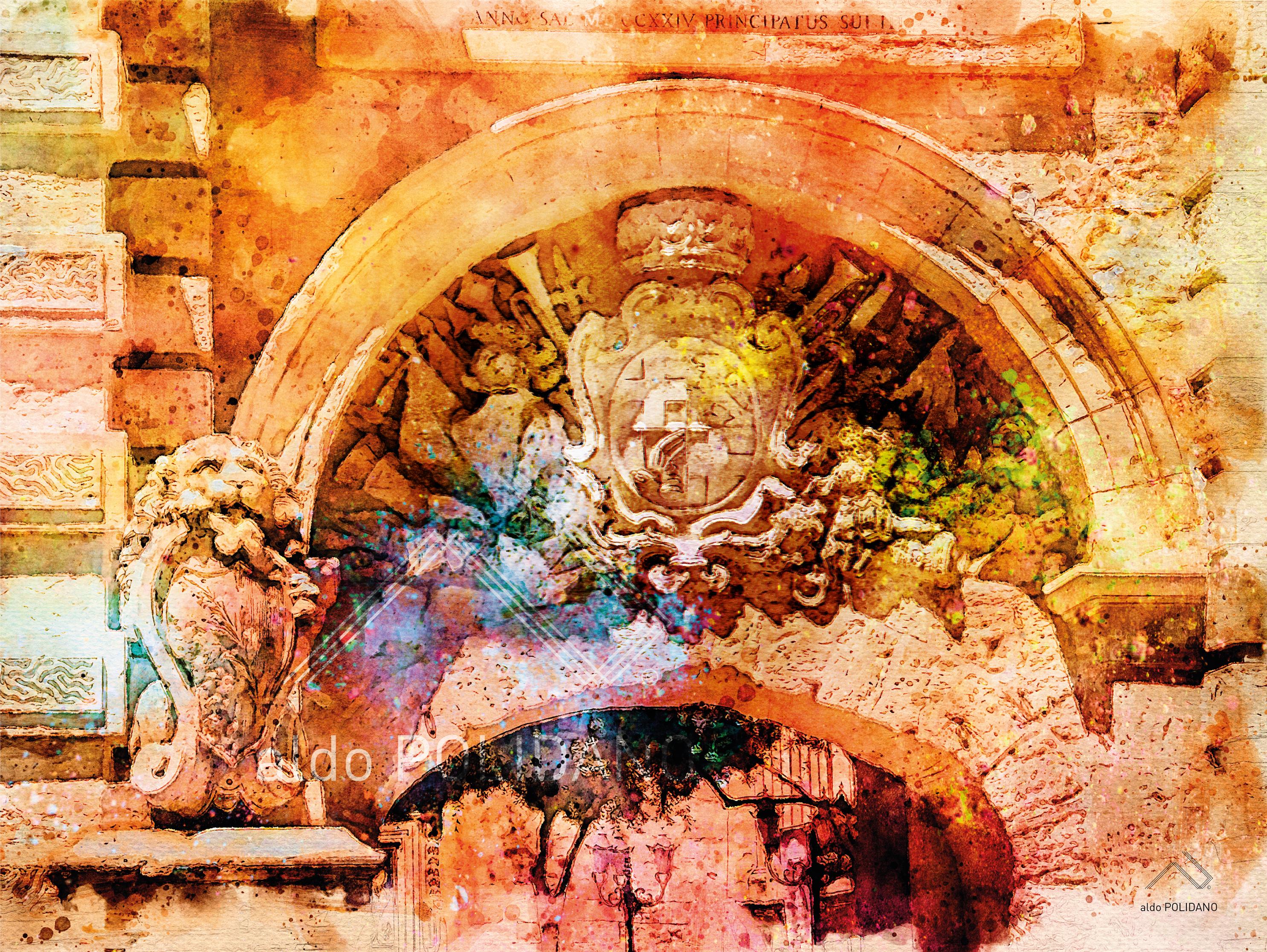 MDINA GATE ARCH