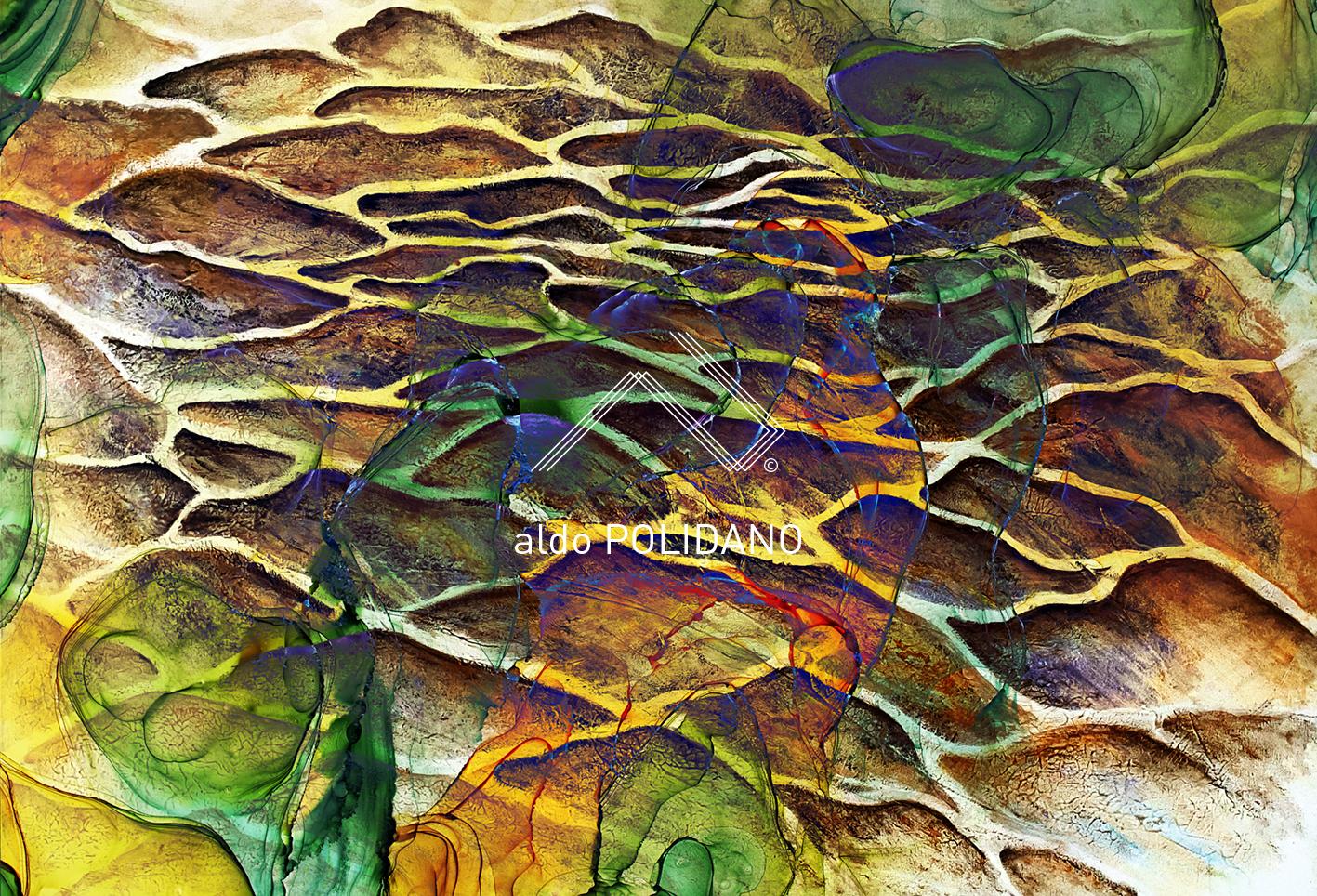 Saltpans abstract art