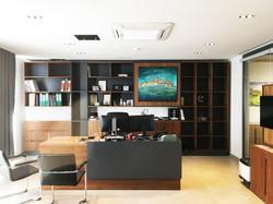 Mdina Semi Abstract Office