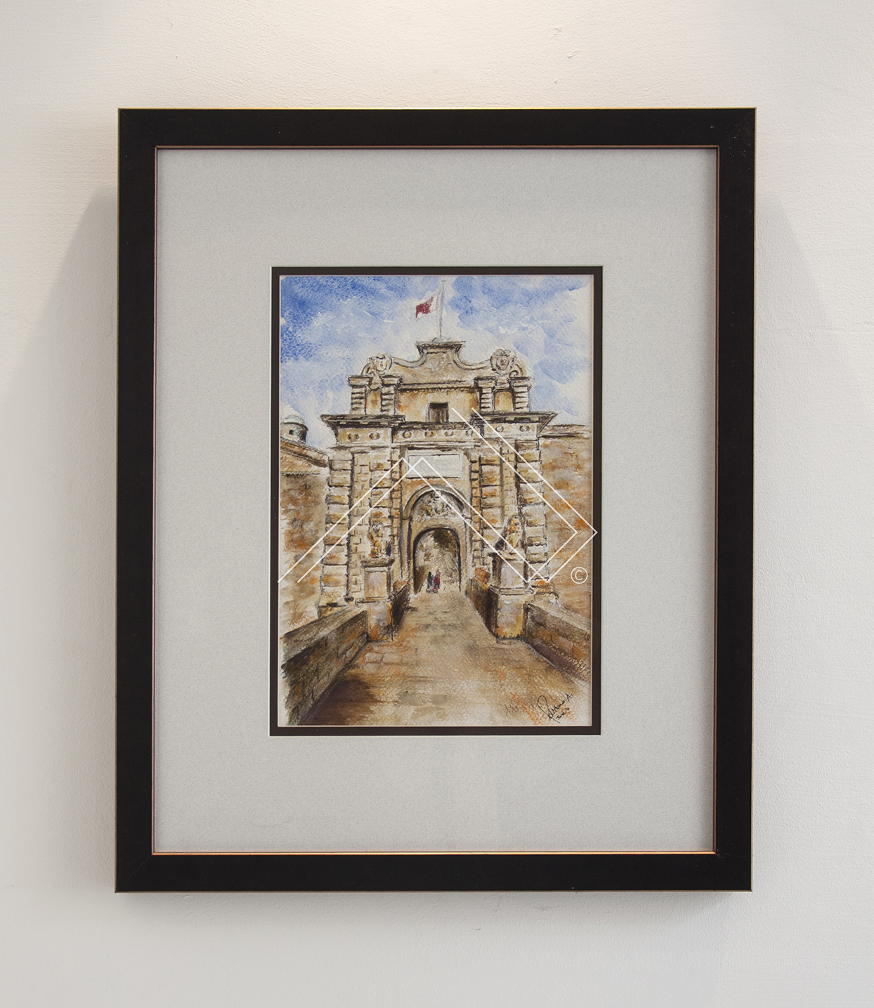 CITY GATE MDINA  | code: 127