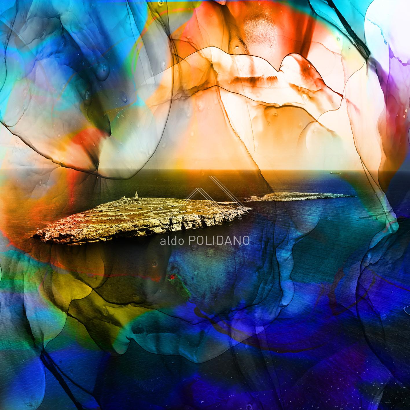 St.Paul's islands semi abstract