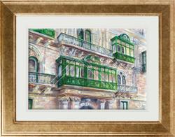 Palazzo Ferreria framed