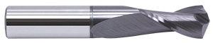 12mm DIA 2FL D/M 120 DEG TIALN