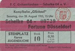 1.Spieltag Oberliga West 1955/1956