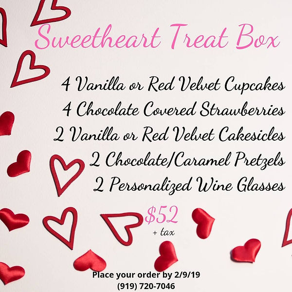 Sweetheart Treat Box