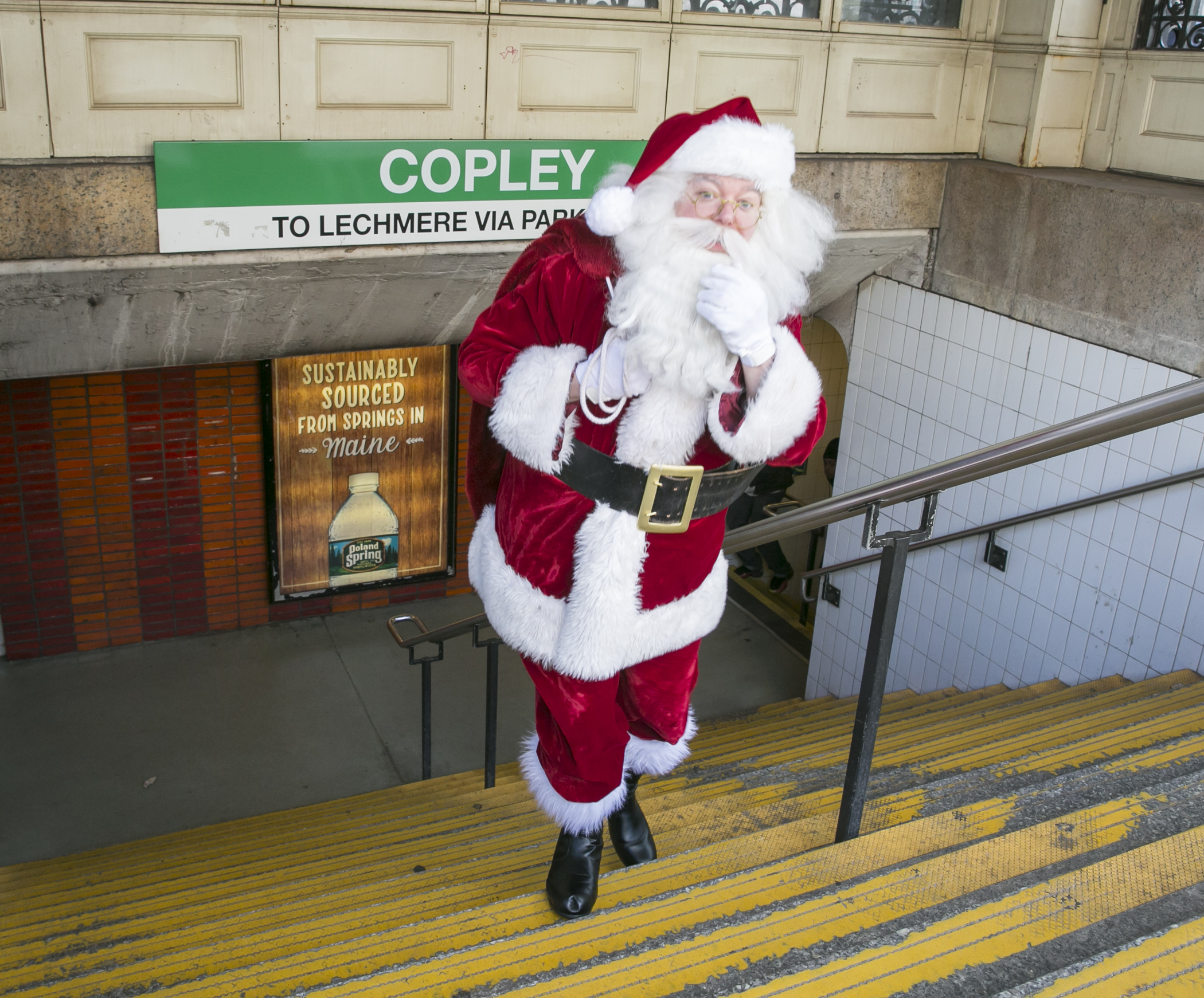 Santa spotted at Copley Station!