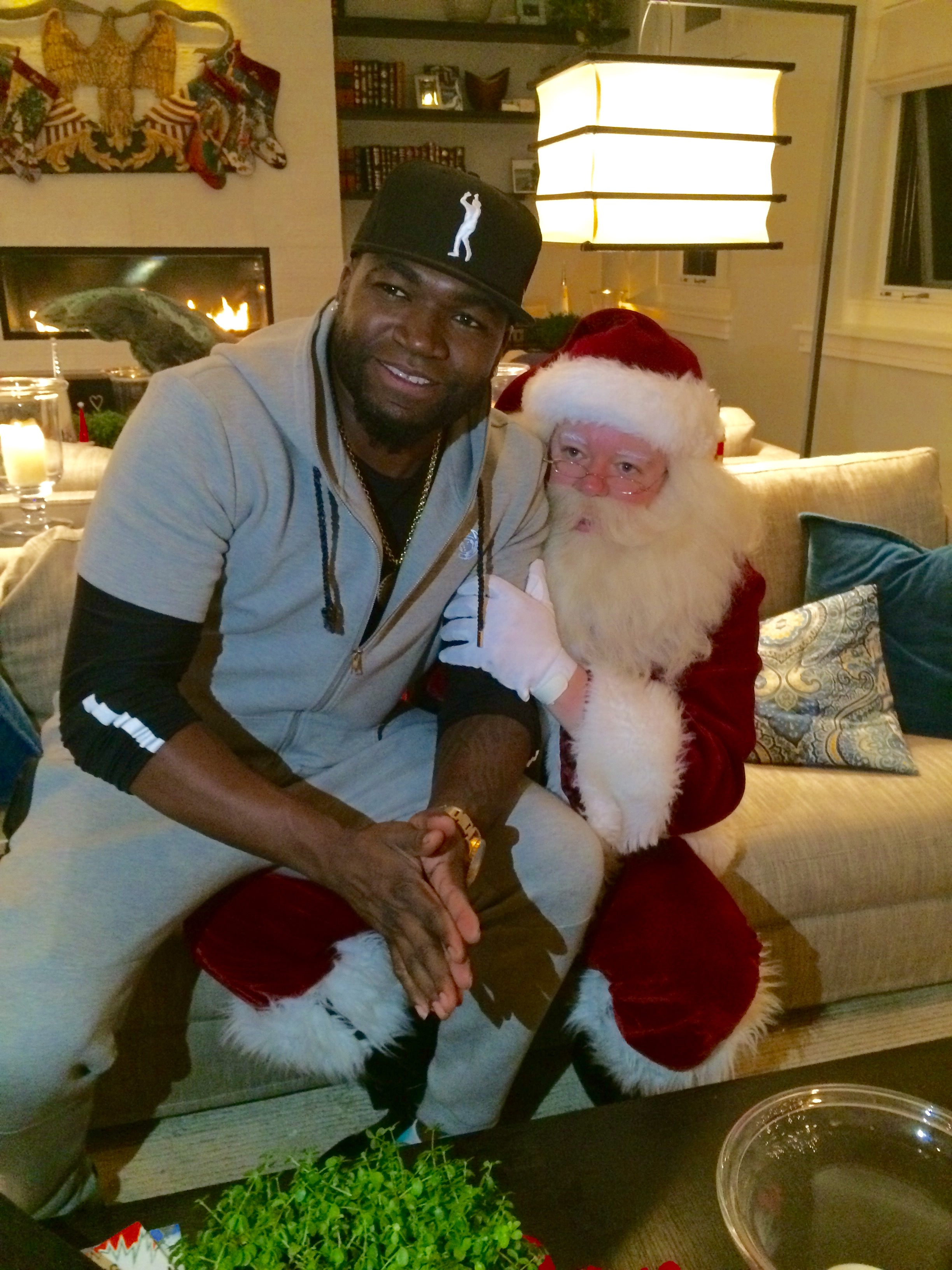 Big Papi and Santa
