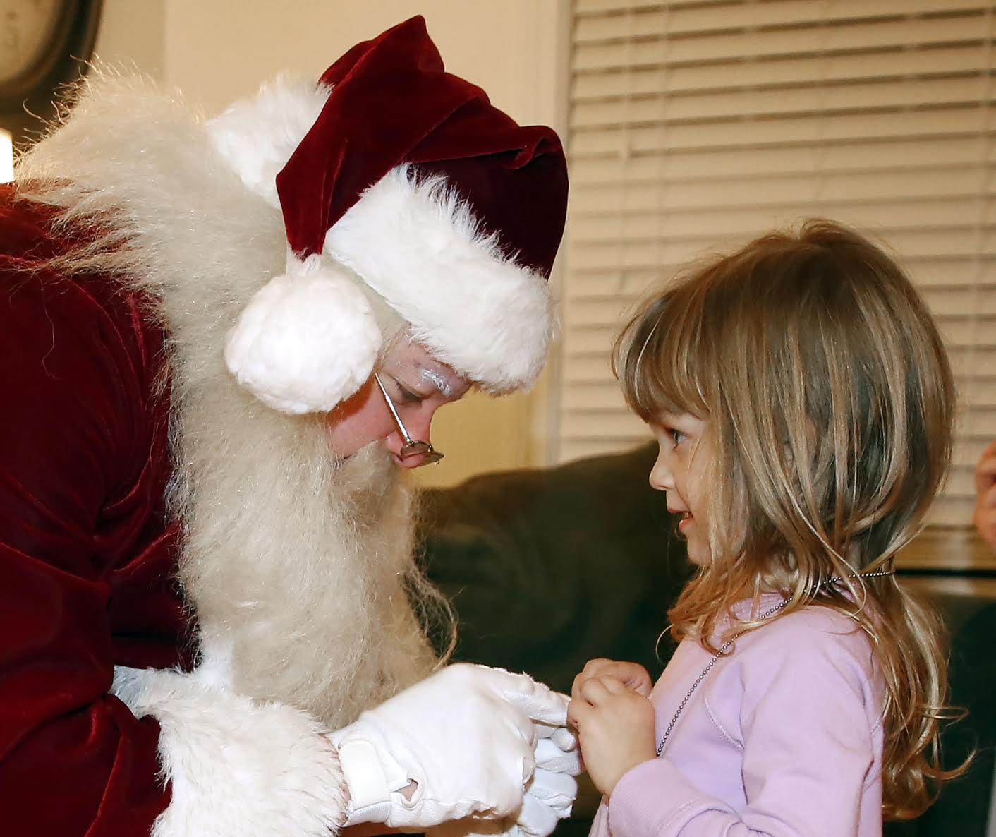 Santa Meets a Fan