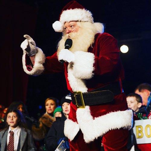 Sing it, Santa!