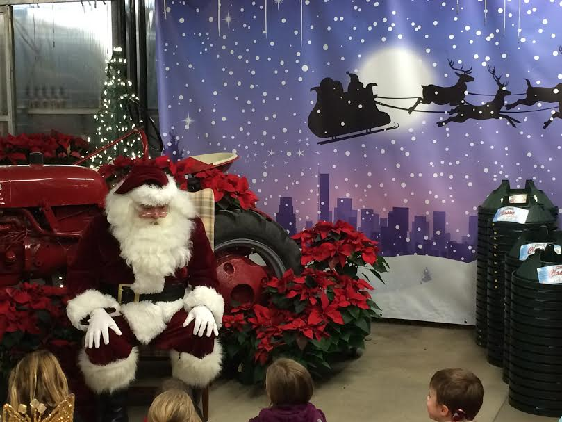 Volante Farms Santa Visit