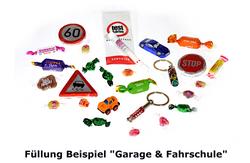 Füllung Garage