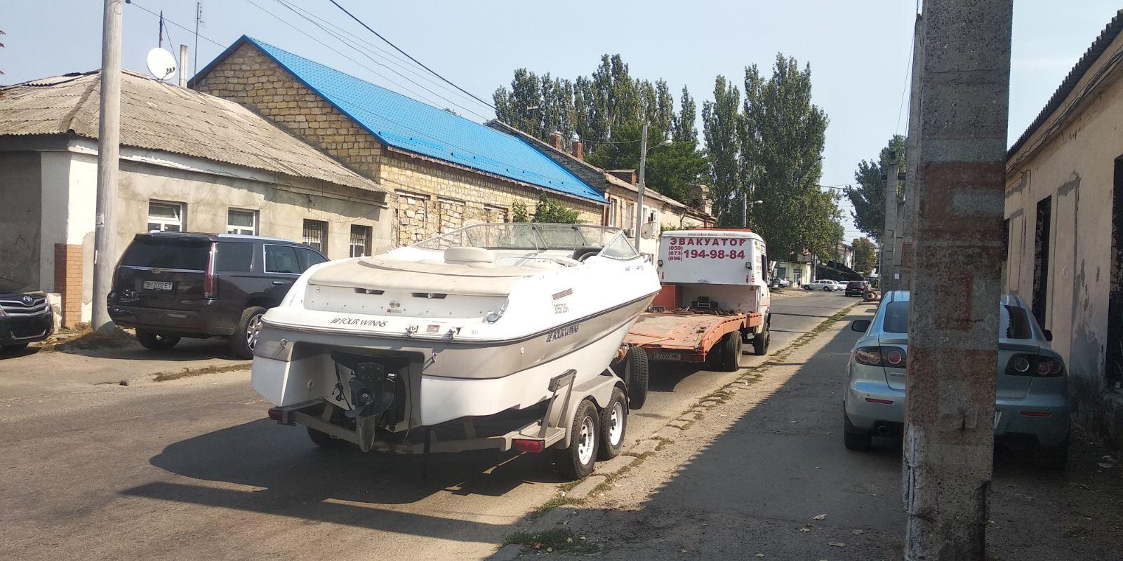 перевезти лодку в одессе