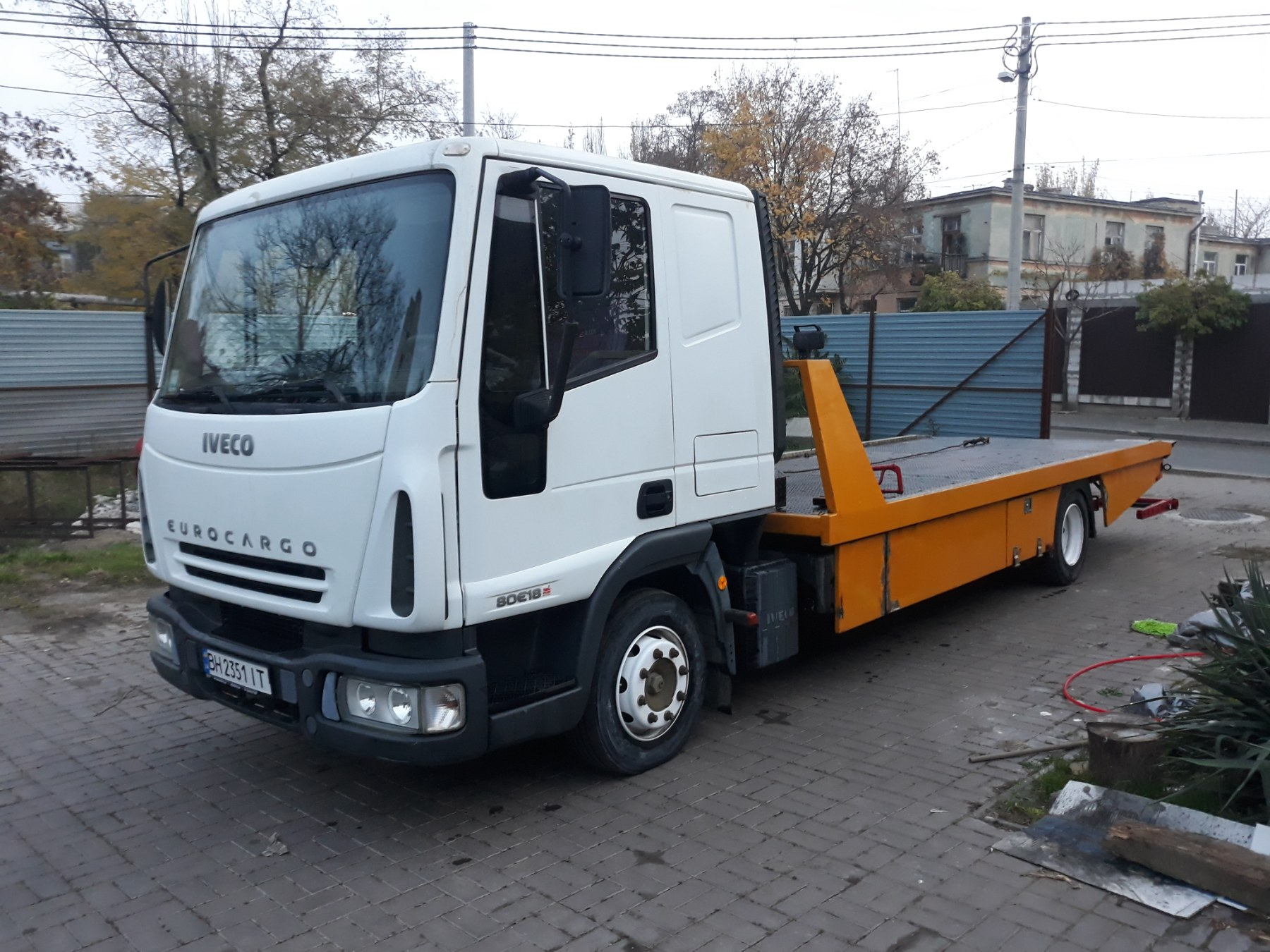 грузовой эвакуатор в Одессе