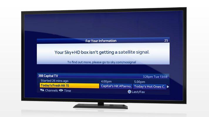 Your Sky Hd Box Isn T Getting A Satellite Signal >> Skytec Tv No Signal Sky Dish Repair