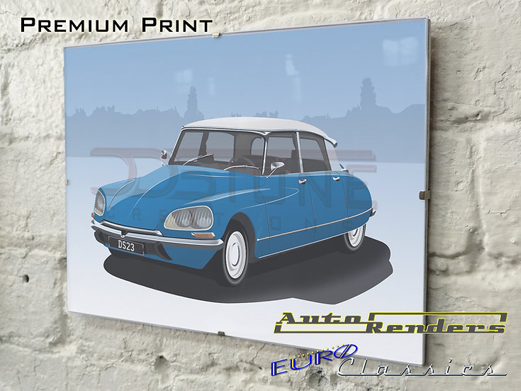 Citroen DS S3 Pallas on Premium Poster - 12x8 to 45x30