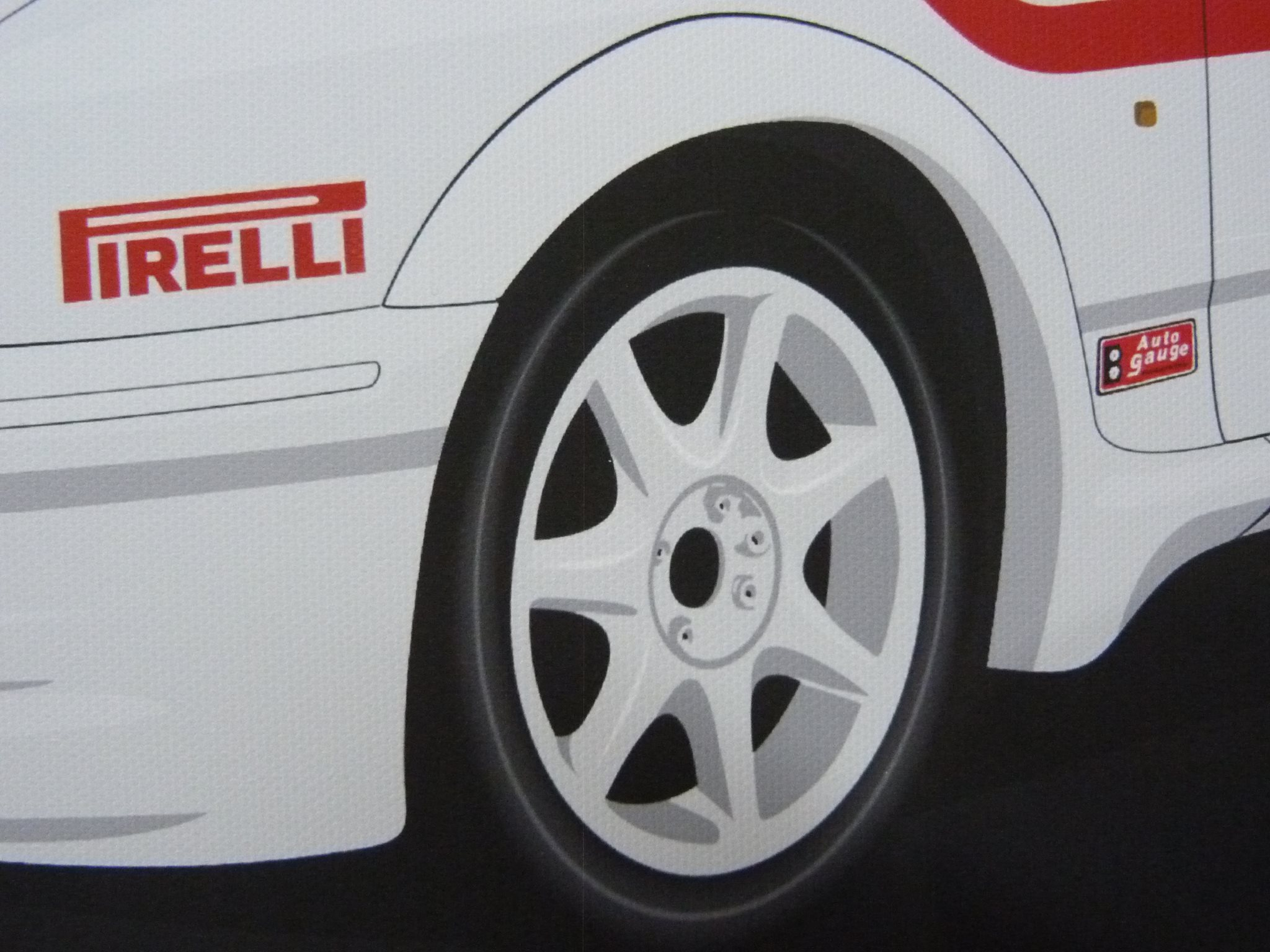 Ford Sierra Cosworth Close Up Wheel