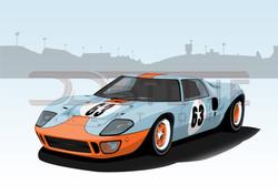 Ford GT40 Mk1 Gulf
