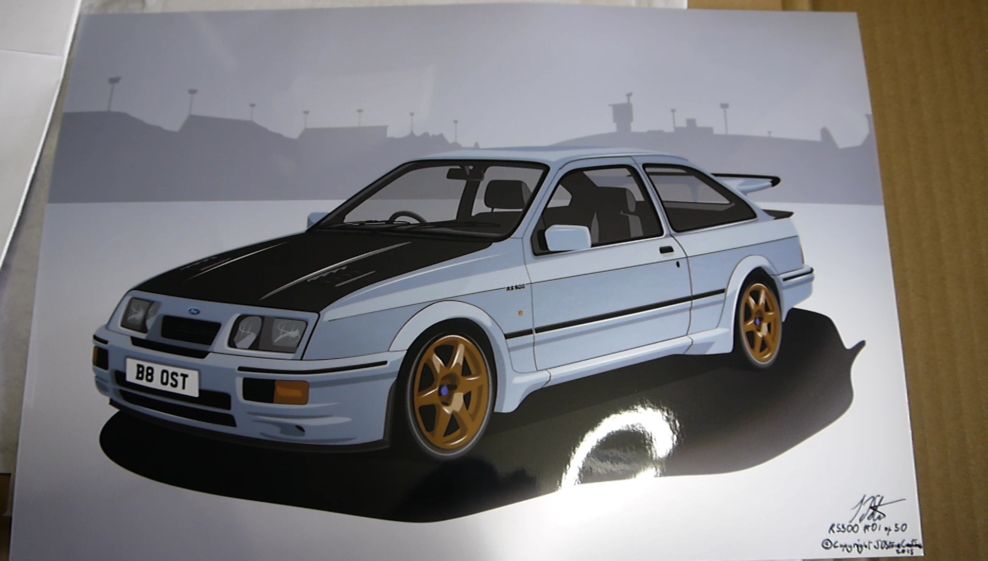 Sierra Cosworth Custom Order