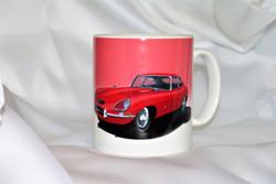 Jaguar E-Type Mug