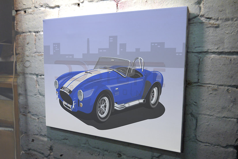 Shelby/AC Cobra 427 on Canvas - 12x8 to 36x24
