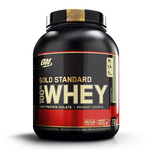 Optimum Nutrition 100% Whey Gold Standard Chocolate Mint (5lbs) - Product View