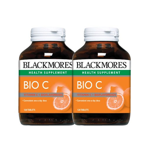 Blackmores Bio C 1000mg 120 tablets (Twin Pack)