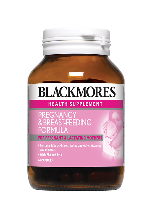 Blackmores Pregnancy & Breast-feeding Formula 60s | Pregnancy and Mothers Health