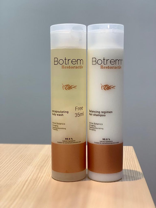 Botrem Restoractiv - Encapsulating Body Wash (235ml) and Hair Shampoo (235ml)