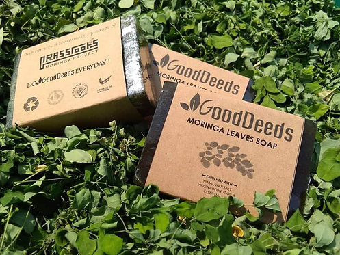 GoodDeeds Moringa Leaves Soap