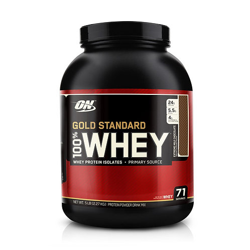 Optimum Nutrition 100% Whey Gold Standard Extreme Milk Chocolate (5lbs) - Product View