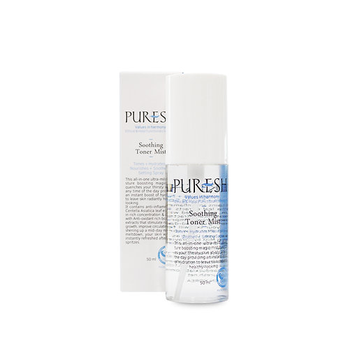 Puresh Soothing Toner mist (50ml)   Skin Health