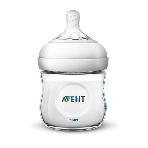Philips Avent Natural baby bottle 4OZ/125ML | Clear | Child Health