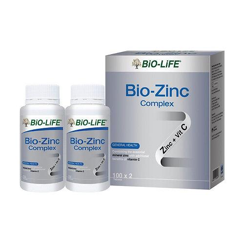 BiO-LiFE Bio-Zinc Complex (2X100S)