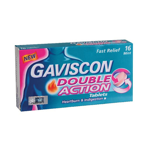 Gaviscon Double Action Tablet 250mg 16s