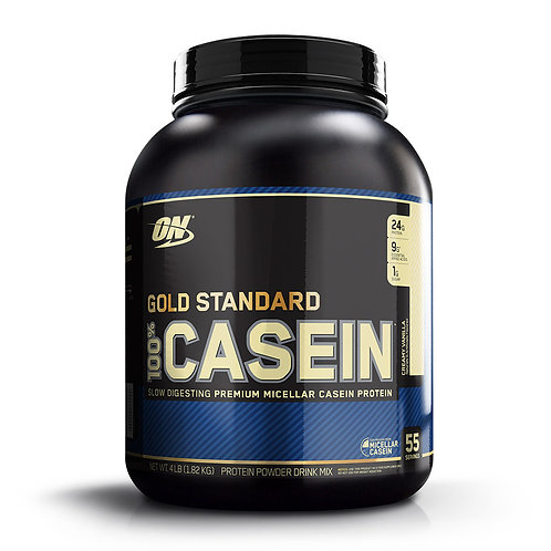 Optimum Nutrition 100% Gold Standard Casein Creamy Vanilla 4lbs - Product View