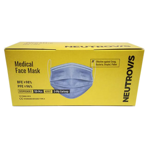 Neutrovis Face Mask (Disposable 3ply) x 50s