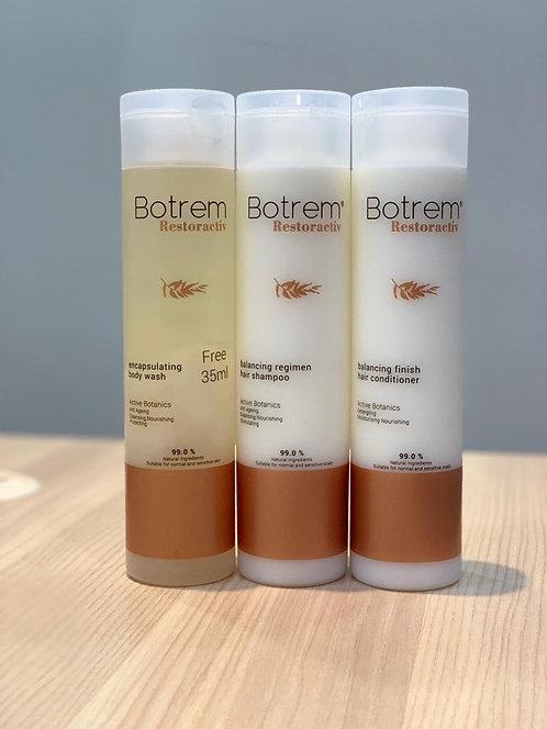 Botrem Body Wash, Hair Shampoo & Conditioner (235 ml)