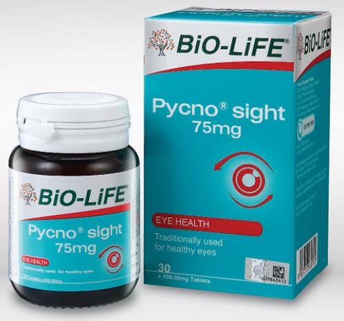 BiO-LiFE Pycno®sight 75mg (30S)