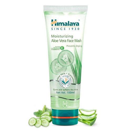Himalaya Moisturising Aloe Vera Face Wash 100ml | Skin Health