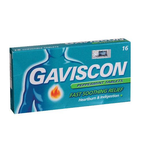 Gaviscon Original Tablet 250mg 16s