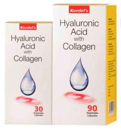 Kordel's Hyaluronic Acid with Collagen (90S+30S) | Joint Health