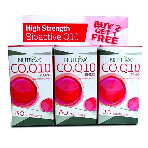 Nutriva CoQ10 (30s x 3) | General Health
